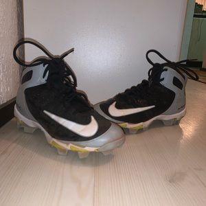 Nike cleats and socks